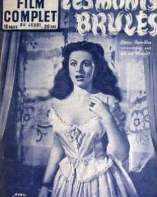 Film Complet magazine with Margaret Lockwood in Hungry Hill.  1953, issue number 412.  (French)