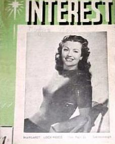 Film Interest magazine with Margaret Lockwood.  May, 1943, issue number 9.