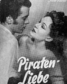 Film Kurier magazine with Richard Attenborough and  Jean Kent in The Man Within.  (German).  Piraten-liebe.