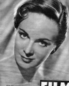 Film magazine with Joan Greenwood.