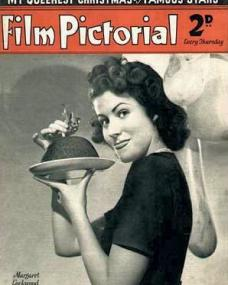 Film Pictorial magazine with Margaret Lockwood.  December, 1938.  My queerest Christmas by famous stars.