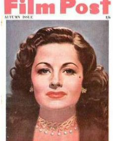 Film Post magazine with Margaret Lockwood in Madness of the Heart.  Autumn issue, 1949.