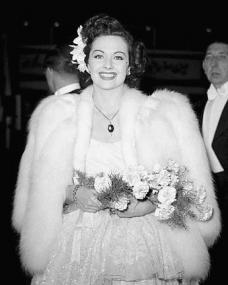 Margaret Lockwood looks radiant as she attends a film premiere