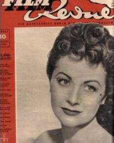 Film Revue magazine with Margaret Lockwood.  1949, issue number 10.  (German)