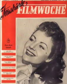Filmwoche magazine with Margaret Lockwood.  12th November, 1949.  (German)