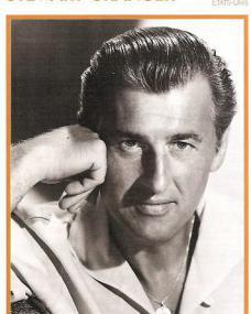 French Stewart Granger postcard from 1950