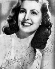 Autograph of Patricia Roc