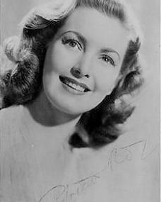 Patricia Roc smiles in an autographed  promotional photo for Gainsborough Studios