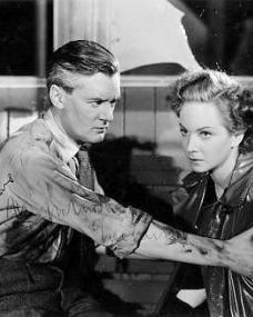 Hugh Williams (as Tony) and Joan Greenwood (as Gay Hardwicke) in a photograph from A Girl in a Million (1945) (1)