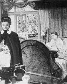 Margaret Lockwood (as Nurse Anne Graham) and Irene Handl (as Miss Baker) in a photograph from The Girl in the News (1940) (11)