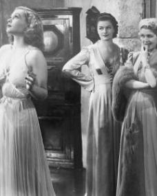 Lilli Palmer (as Clytie Devine), Margaret Lockwood (as Leslie James) and Renée Houston (as Gloria Lind) in a photograph from A Girl Must Live (1939) (10)