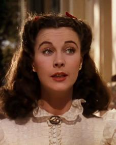 Screenshot from Gone with the Wind (1939) (1) featuring Vivien Leigh as Scarlett O'Hara