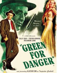 Green for Danger DVD from Network and the British Film [2019]. Alastair Sim and Sally Gray