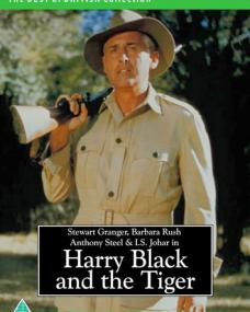 Harry Black and the Tiger (Harry Black) DVD with Stewart Granger