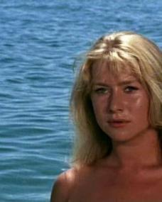 Cora (Helen Mirren) in Age of Consent (1969)