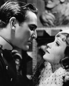 Henry Wilcoxon (as Capt Nicolai Ilyinski) and Anna Sten (as Maria Krasnova aka Maria Novikova) in a photograph from A Woman Alone (1936)