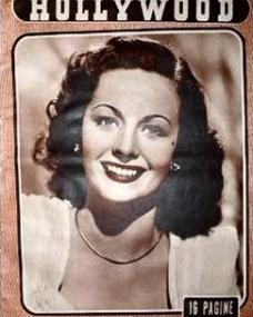 Hollywood magazine with Margaret Lockwood.  3rd June, 1950.  (Italian)