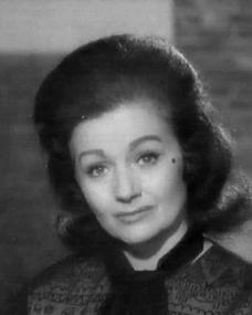 Margaret Lockwood (as Jean Forrest) in a screenshot from the 'Solo Performance' (1964) episode of The Human Jungle (1963-64) (2)