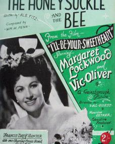 Sheet music from I'll Be Your Sweetheart (The Honeysuckle and the Bee).  Written by Alb Fitz