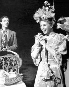 Michael Denison (as Algernon Moncrieff) and Joan Greenwood (as Gwendolyn Fairfax) in a photograph from The Importance of Being Earnest (1952) (2)