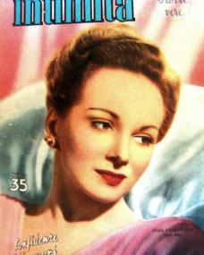 Intimatà  magazine with Joan Greenwood.  (Italian)