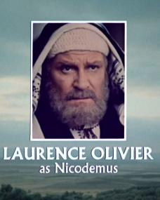 Main title from Jesus of Nazareth (1977) (16). Laurence Olivier as Nicodemus