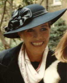 Julia Lockwood at Margaret Lockwood's Memorial Service in 1990
