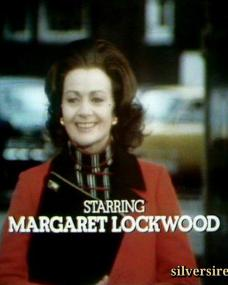 Margaret Lockwood (as Harriet Peterson) in a screenshot from season 3 of Justice (1971-74)