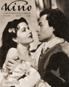 Kino magazine with Margaret Lockwood and  James Mason in The Wicked Lady.  1947.  (Greek)