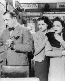 Basil Radford (as Charters), Margaret Lockwood (as Iris Matilda Henderson) and Linden Travers (as Mrs Margaret Todhunter) in a photograph from The Lady Vanishes (1938) (19)