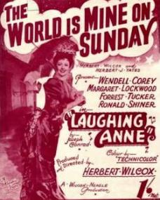 Sheet music from Laughing Anne (The World is Mine on a Sunday)
