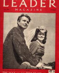 Leader magazine with James Mason and  Margaret Lockwood.  1st July, 1946.  The way to the film stars.