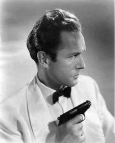 Griffith Jones (as Charles Kent) in a photograph from Look Before You Love (1948) (18)