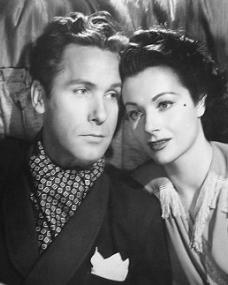 Griffith Jones (as Charles Kent) and Margaret Lockwood (as Ann Markham) in a photograph from Look Before You Love (1948) (6)