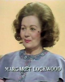 Margaret Lockwood (as Herself – Guest) in a screenshot from the 20th July, 1982 episode of Looks Familiar (1970-87)