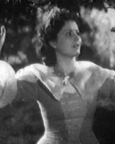 Margaret Lockwood (as Annie Ridd) in a screenshot from Lorna Doone (1934) (1)