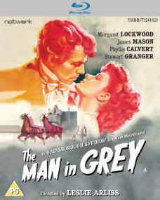 The Man in Grey Blu-ray from Network and The British Film (2020)