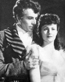 James Mason (as Marquis of Rohan) and Margaret Lockwood (as Hesther Shaw) in a photograph from The Man in Grey (1943) (6)