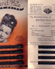 The Blend-Rite series of British Film Stars; Number 1, featuring Margaret Lockwood