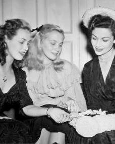 Patricia Roc with Margaret Lockwood and a blonde girl