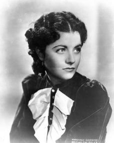 Ingenue Margaret Lockwood wears a chiffon top