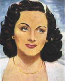 Cigarette Card featuring Margaret Lockwood