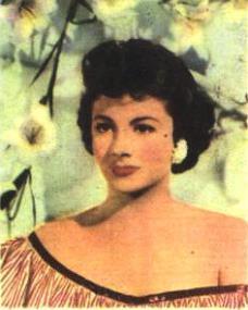 Dutch gum card featuring Margaret Lockwood