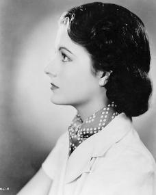 Margaret Lockwood in spotted neckerchief