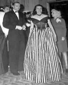 Keith Dobson and Margaret Lockwood attend a film premiere