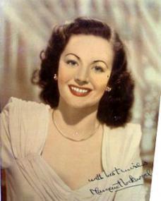 Autographed colour photo of Margaret Lockwood (2)