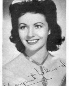 Photograph of Margaret Lockwood (77)