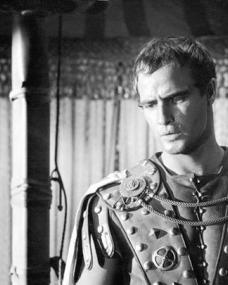 Marlon Brando (as Mark Antony) in a photograph from Julius Caesar (1953) (1)