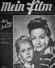 Mein Film magazine with Julia Lockwood and  Margaret Lockwood.  1948.  (German)