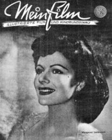 Mein Film magazine with Margaret Lockwood.  March, 1946.  (German)